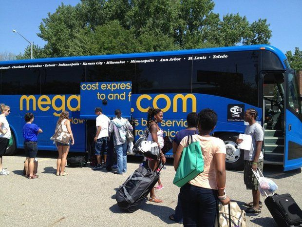 MegaBus is canceling all of its ride services on the Pittsburgh-Cleveland-Toledo-Detroit-Ann Arbor route starting May 6, 2014. (MLive.com File)
