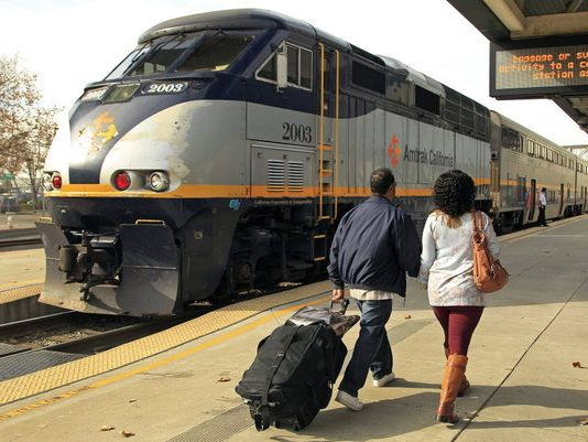 Amtrak released fiscal 2014 ridership numbers on Monday that show overall ridership gains but declines in long-distance lines.(Photo: Ben Margot, AP)