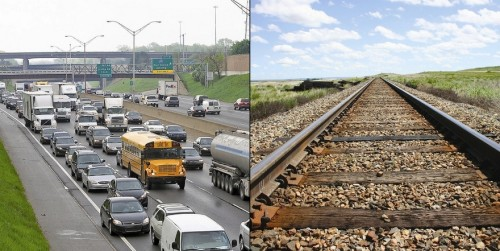 Photo by NATHAN SKID, CBD (left) / ISTOCK PHOTO (right) With that spring ritual — the weekend slog up and down I-75 — about to rev up, you'd be excused for thinking there has to be a better way to get up north. Could that way be a railway?