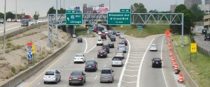 Photo by Michigan Department of Transportation Eliminating the left exit ramp is one goal of the I-94 redesign project that will begin in 2019.