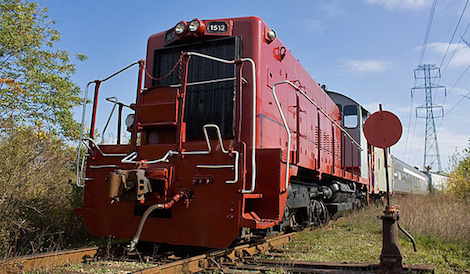 A Railmark engine.
