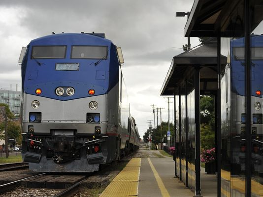 The Michigan Environmental Council has undertaken a $100,000 feasibility study on public transporation options, including establishing rail service between Detroit and Grand Rapids.(Photo: John T. Greilick;file / The Detroit News)