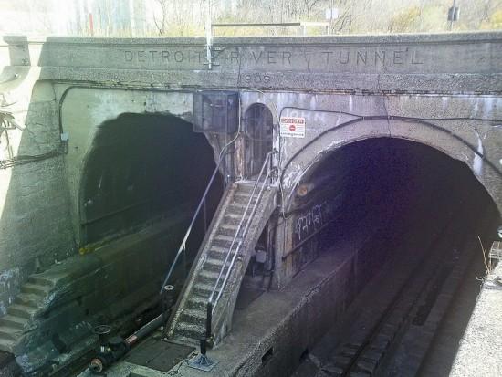 Detroit-Windsor Rail Tunnel.